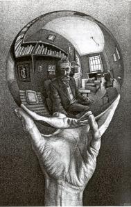 escher-auto-retrato